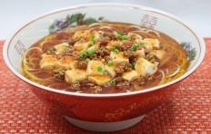 Муляж супа рамэн с мабо тофу