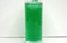 Муляж газированной воды со вкусом дыни