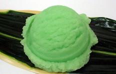 Муляж мороженого щербета из дыни