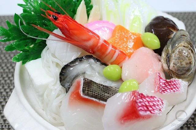 Муляж набе с морепродуктами (1 порции)