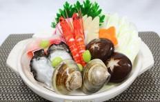Муляж набе с морепродуктами (2 порции)