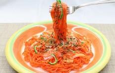Муляж спагетти Наполитано-5