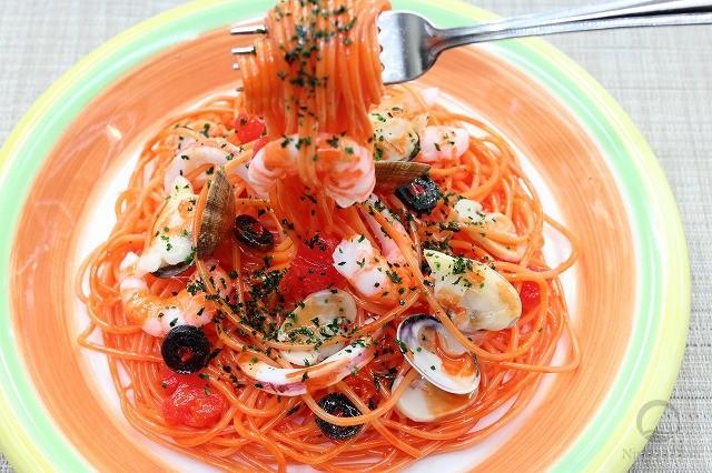 Муляж спагетти пескаторе