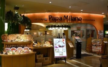 "Фотографии фасадов и витрин пиццерий. Пиццерия ""Papa Milano"". Фасад."