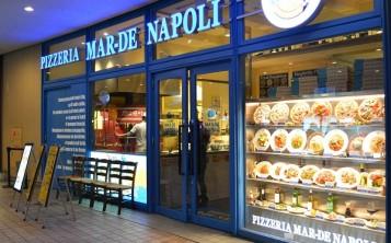 """Пиццерия """"Mar-de Napoli"""". Фасад."""
