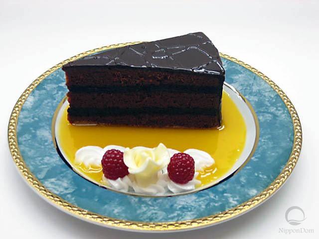 Кусочек шоколадного торта-1