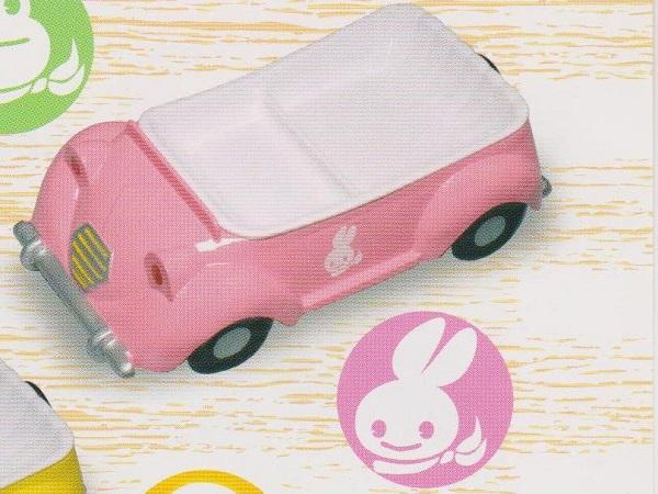 Поднос-машина (розовая)