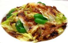 Муляж блюда «Свинина с капустой «Хойкоро»