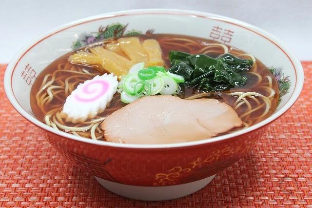 Муляж супа рамэн со вкусом сои