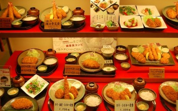 Японский ресторан - 4. Витрина.