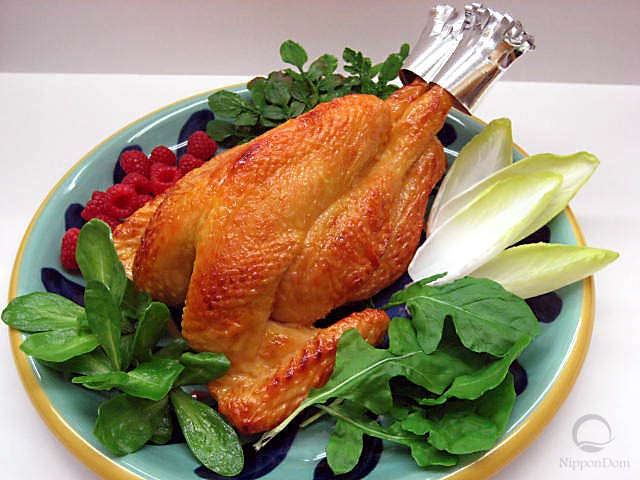 Муляж жареной курицы
