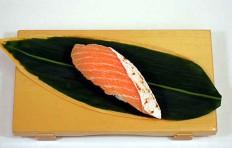 Муляж лосося (запеченный торо)