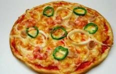 Муляж пиццы с морепродуктами (26 см)