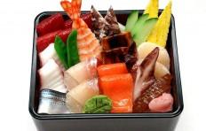 Макет подноса с морепродуктами-2