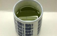 Муляж японского чая «Sencha»