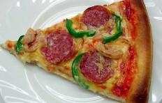 Муляж конуса пиццы с салями