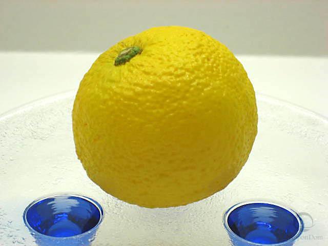 Муляж лимона