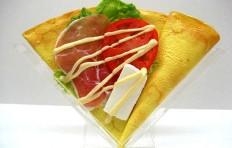 Муляж блина «Салат из ветчины и овощей»