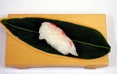 Муляж суши «морской красный окунь»-2