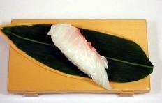 Муляж суши «морской красный окунь»-7