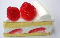 Муляж клубничного торта-2