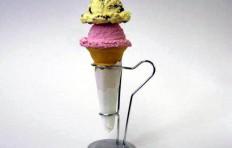 Муляж мороженого в конусе ассорти 12