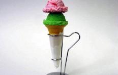 Муляж мороженого в конусе ассорти 11