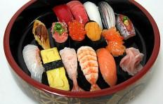 Муляж набора суши (15 шт)