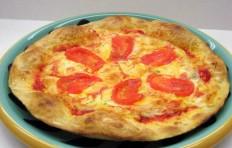 Муляж пиццы с помидорами (26 см)