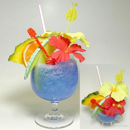 Тропический (голубой)