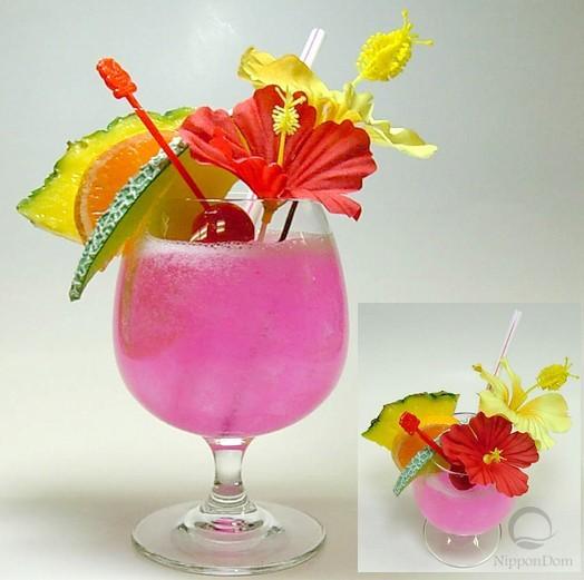Тропический (розовый)