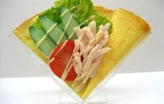 Муляж блина «Салат из курицы и овощей»