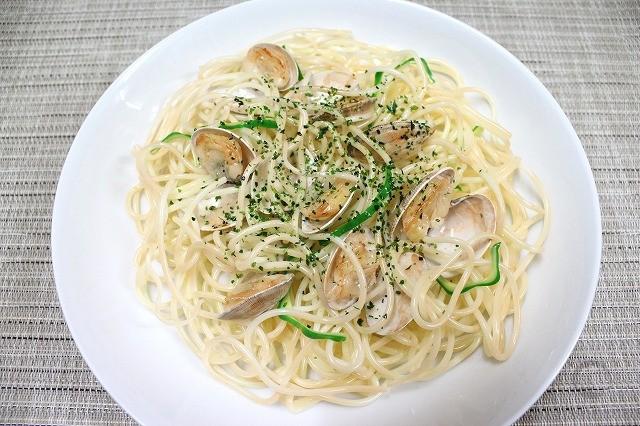 """Муляж спагетти """"Вонголе"""""""